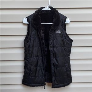 North Face Vest- REVERSIBLE!